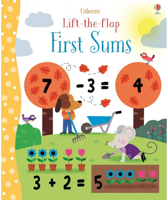 Lift-the-flap First Sums - Melisande Luthringer