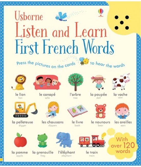 Listen and Learn First French Words - Usborne Listen and Learn