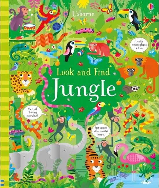 Look and find jungle - Usborne Look and Find books illustrated by Gareth Lucas