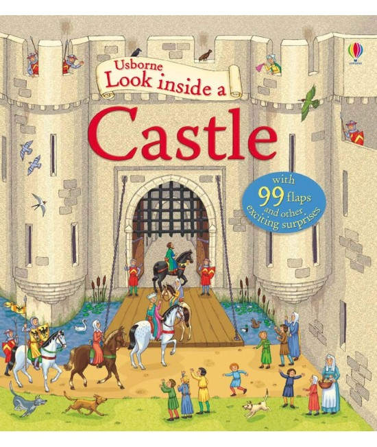 Look inside a Castle - Usborne look inside