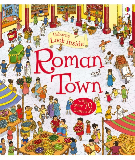 Look inside a Roman Town - Usborne look inside