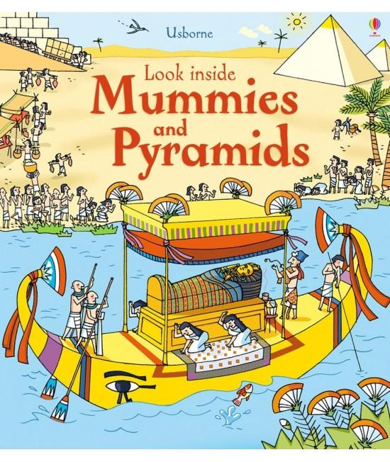 Look inside Mummies and Pyramids - Usborne look inside