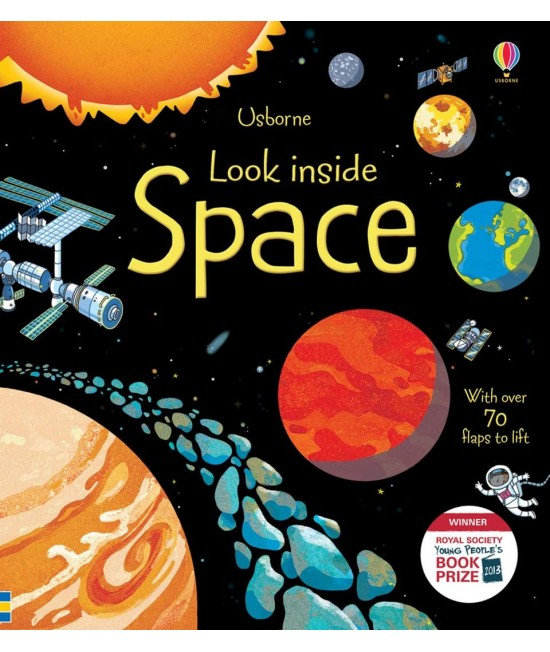 Look inside Space - Usborne look inside