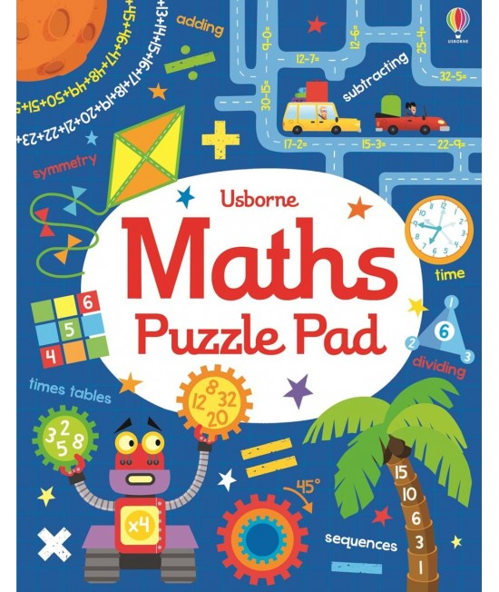 Maths puzzle pad - Tear-off pads