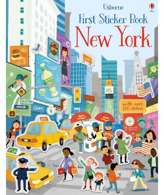 New York - Usborne First Sticker Book