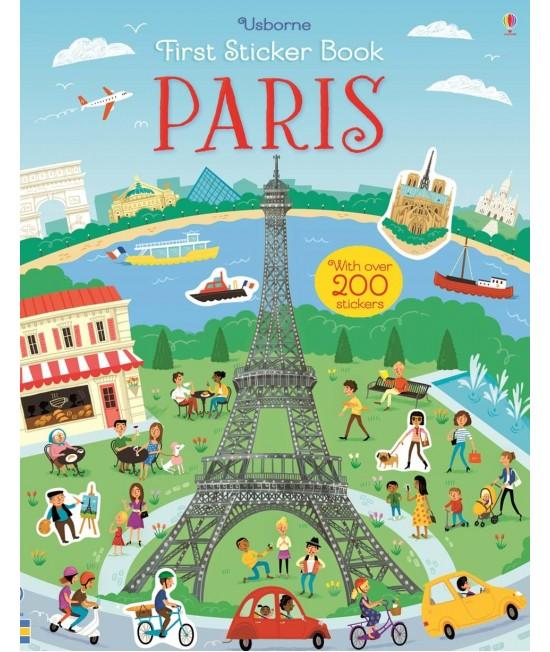 Paris - Usborne First Sticker Book