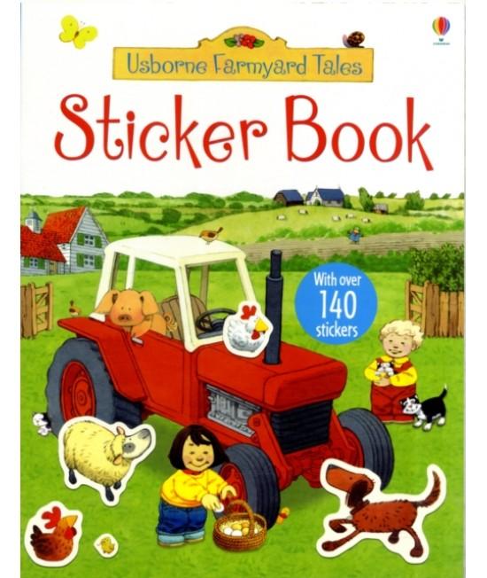 Sticker book - Usborne Farmyard Tales