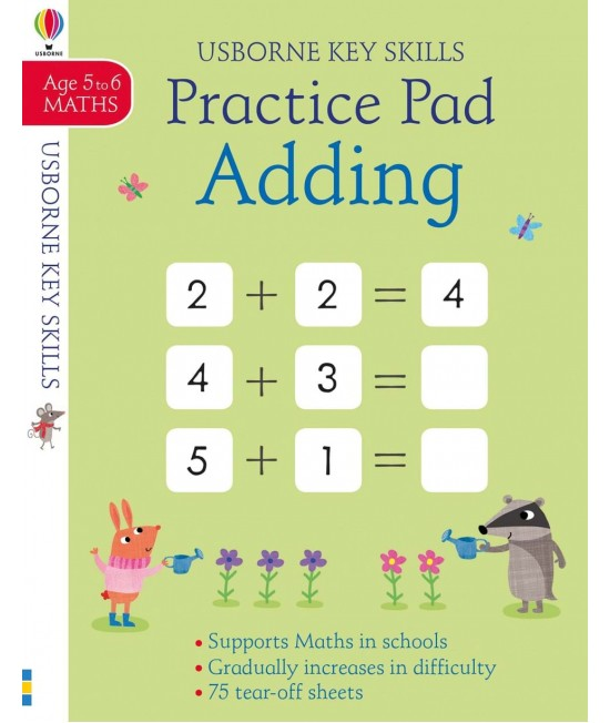 Adding practice pad 5-6 years - Usborne Key Skills