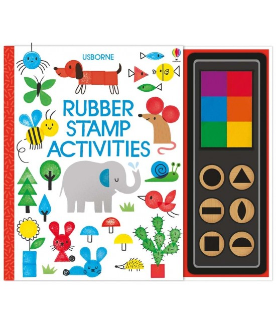 Rubber stamp activities - Fingerprinting and rubber stamps - Erica Harrison