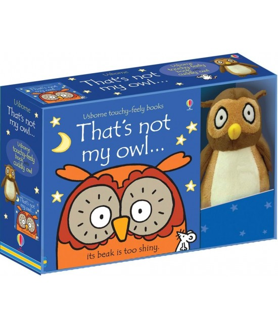 That's not my owl - Usborne touchy-feely book and toy - Rachel Wells