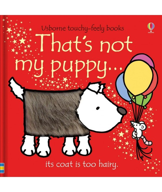 That's not my puppy - Usborne touchy-feely book - Rachel Wells