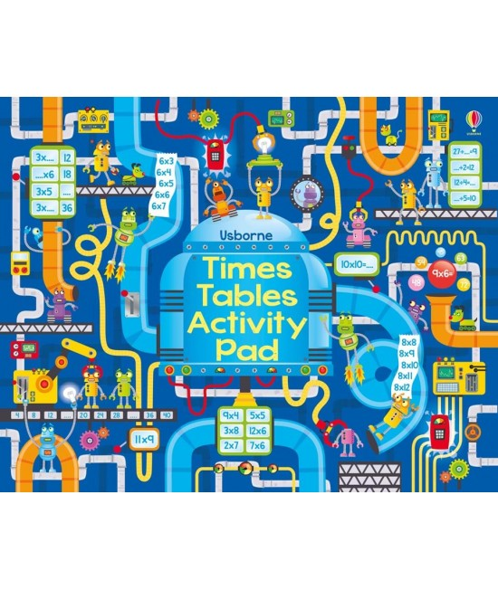 Times tables activity pad - Big activity pads