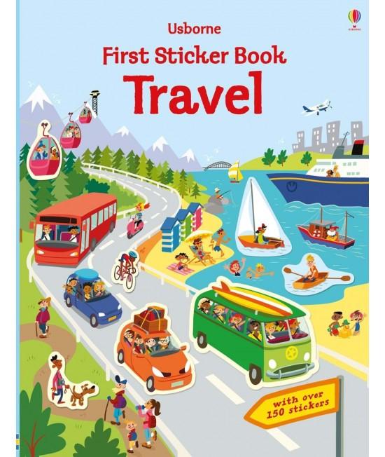 Travel - Usborne First Sticker Book