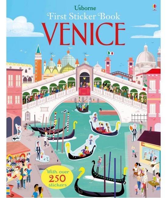 Venice - Usborne First Sticker Book