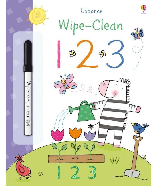 Wipe-clean 1 2 3 - Usborne Wipe-clean learning