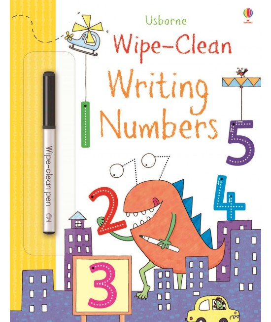 Wipe-clean Writing Numbers - Usborne Wipe-clean learning
