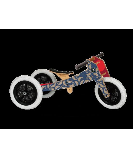 Bicicletă de echilibru Wishbone Design 3-în-1 Pangolin ediție limitată Endagered Species (bicicletă din lemn fără pedale)