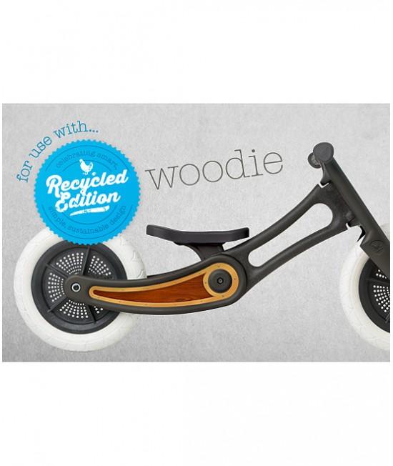 Autocolant decorativ pentru bicicleta Wishbone Ediție Reciclată - Woodie