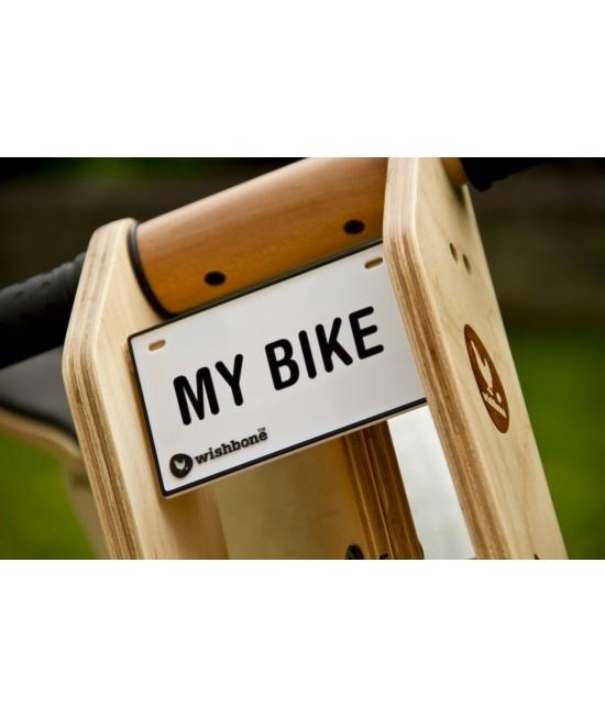 Plăcuță cu nume pentru bicicleta Wishbone