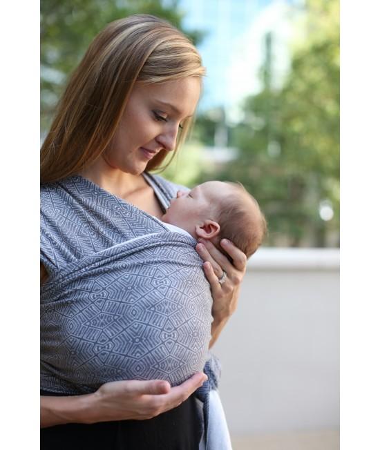 Wrap elastic pentru purtarea bebelușilor Boba ediție limitată Kahla